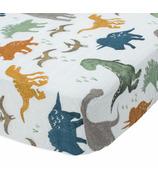 Little Unicorn Cotton Muslin Crib Sheet Dino Friends