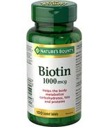 Nature's Bounty Biotin