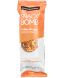 Snack Conscious Snack Bomb Coffee Ginger Energy Balls Snack Size
