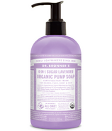 Dr. Bronner's 4-in-1 Sugar Lavender Organic Pump Soap