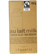 Galerie au Chocolat Milk Chocolate Bar