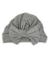 Baby Wisp Butterfly Bow Hat Grey