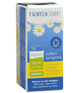 Natracare Organic Tampons with Applicator