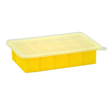 Green Sprouts Silicone Freezer Tray Yellow