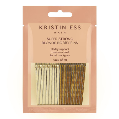 Kristin Ess Hair Super-Strong Bobby Pins Blonde