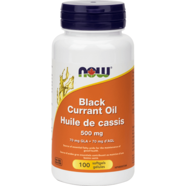 NOW Foods Black Currant Oil 500 mg