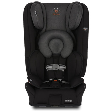 Diono Rainier Convertible Booster Car Seat Black Mist