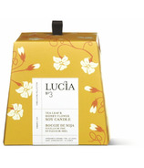 Lucia Tea Leaf & Honey Flower Soy Candle