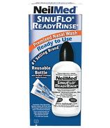 Nettoyage nasal prêt à l'emploi et prémélangé SinuFlo de NeilMed