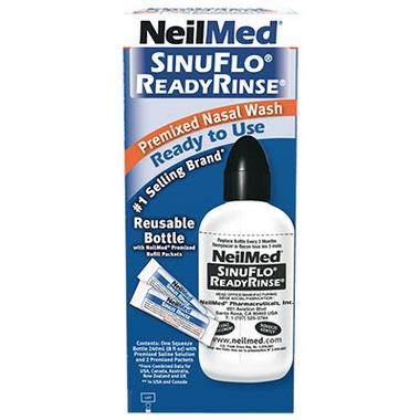NeilMed SinuFlo ReadyRinse Premixed Nasal Wash Ready To Use
