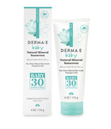 Derma E Natural Mineral Sunscreen SPF30 Baby
