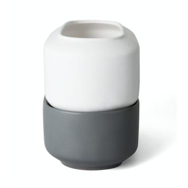 Chef\'n Ceramic Herb Pot Self Watering Planter Small
