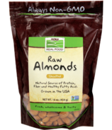 NOW Real Food Raw Unsalted Almonds