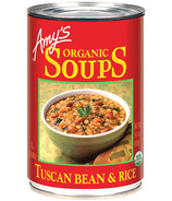 Amy's Organic Tuscan Bean & Rice Soup
