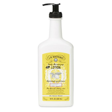 J.R. Watkins Moisturizing Body Lotion Pump Lemon Cream