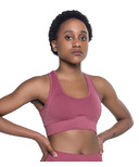 Saint Lyon Flex Seamless Sports Bra Salmon