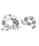 Lulujo Mommy & Me Scrunchies Black Floral