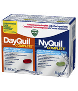 Vicks DayQuil and NyQuil COMPLETE Cough, Cold and Flu Relief