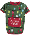 Little Blue House Northern Light Dog PJs