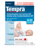 Tempra Fever & Pain Relief Infant Drops Cherry (0-23 months)