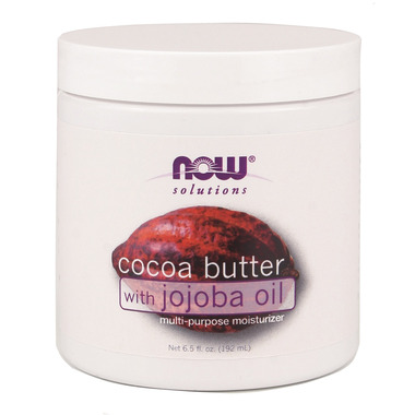NOW Solutions Cocoa Butter with Jojoba Oil