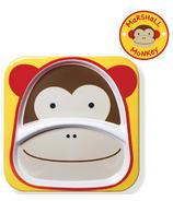 Skip Hop Zoo Tableware Melamine Plate Monkey Design