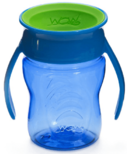 Wow Cup Baby Tritan 360 Spill-Free with Handles Blue