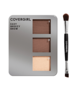 CoverGirl Easy Breezy Brow Powder Kit Honey Brown