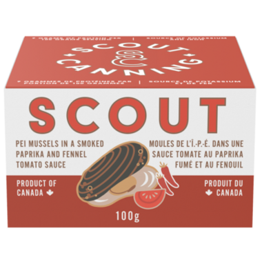 Scout Organic PEI Mussels In Tomato Sauce