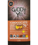 Giddy Yoyo Organic Chocolate Bar Orange