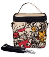 SoYoung x Pixopop Raw Linen Pishi and Friends Small Cooler Bag