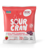 Patience Fruit & Co Sour Cran Dried Cranberries Candies Strawberry