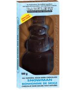 Barkley's Natural Snowman Dark Chocolate