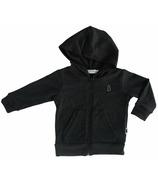 North Kinder Knit Hoodie Marled Black