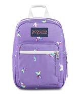 JanSport Big Break Lunch Bag Purple Dawn Butterfly Kisses