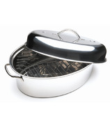 Stainless Steel Oval Roaster Set