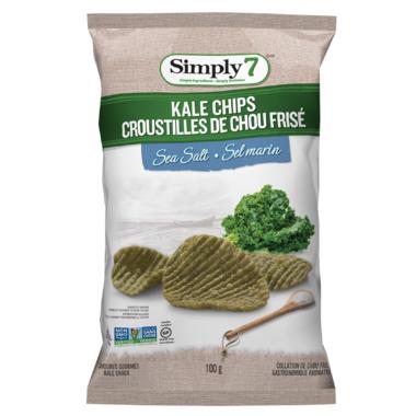 Simply7 Kale Chips Sea Salt
