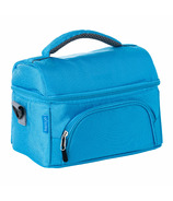 Bentgo Deluxe Insulated 2-Compartment Lunch Tote Blue