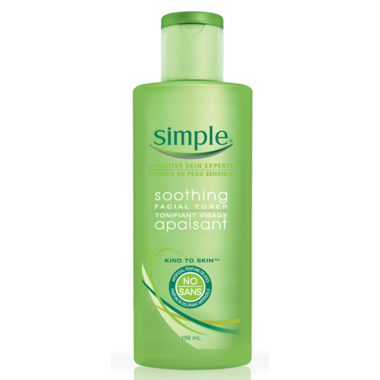 Simple Kind To Skin Soothing Facial Toner