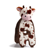 Charming Pet Products Cuddle Tug Cow Dog Toy