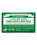 Dr. Bronner's Pure Castile Bar Soap Almond