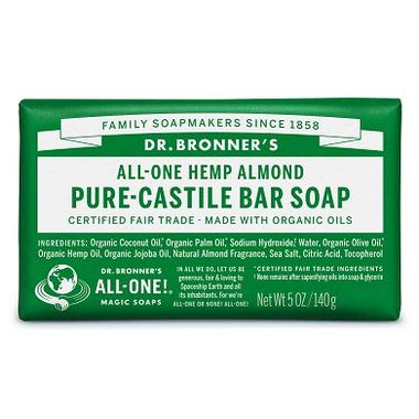 Dr. Bronner\'s Pure Castile Bar Soap Almond
