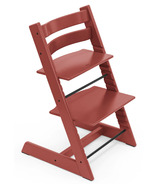 Chaise naturelle de STOKKE Tripp Trapp Rouge chaud