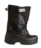 Stonz The Trek Toddler Winter Bootz Black & Grey