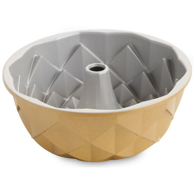 Nordic Ware Jubilee Bundt Pan Gold