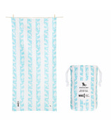 Dock & Bay Quick Dry Towel 'Doing Our Bit' Whale & Dolphin Conservation