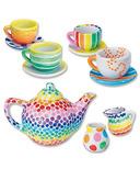 Mindware Paint-Your-Own Porcelain Tea Set