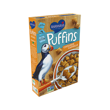 Barbara\'s Cinnamon Puffins Cereal