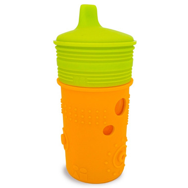 Silikids Siliskin Sippy Cup 8oz Tart Orange