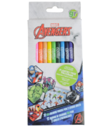 greenre Eco-Marvel Avenger Colouring Pencils with Stickers